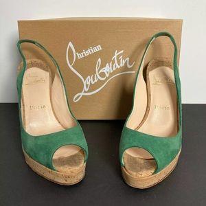 Authentic Christian Louboutin Stilettos Size 37.5